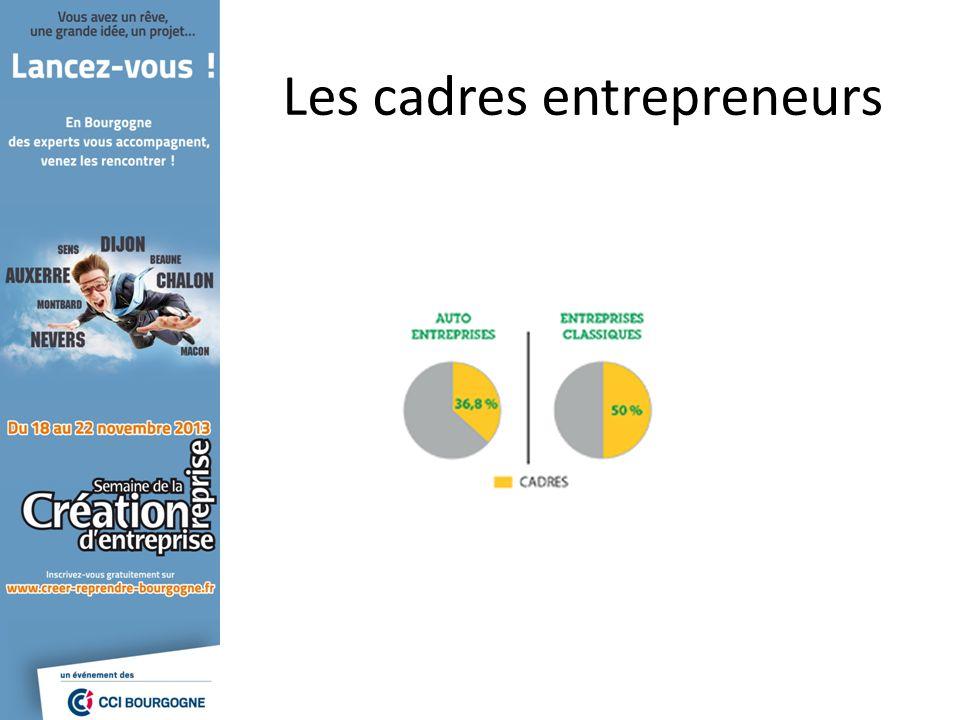 Les cadres entrepreneurs