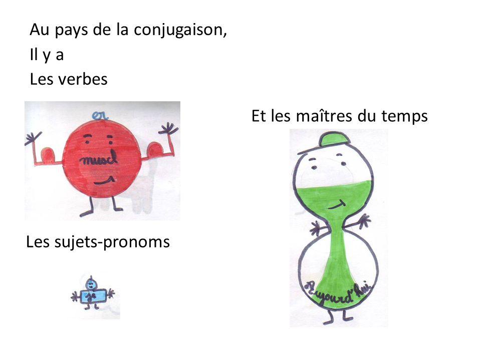 Au pays de la conjugaison, Il y a Les verbes Les sujets-pronoms Et les maîtres du temps