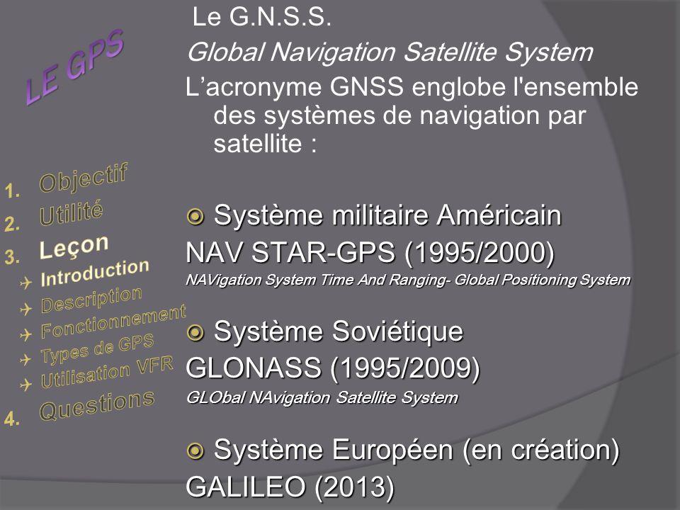 Le G.N.S.S.
