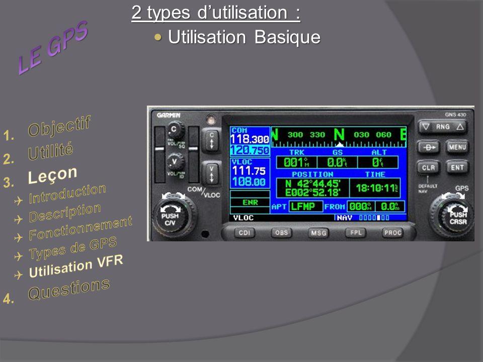 2 types dutilisation : Utilisation Basique Utilisation Basique