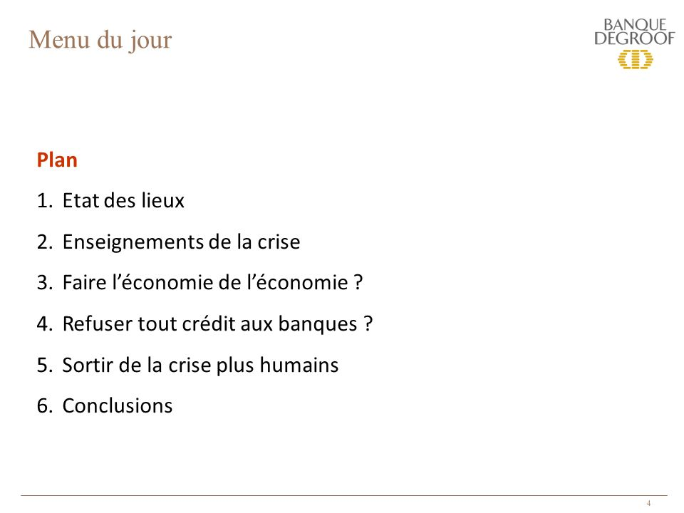 15 2. Enseignements de la crise