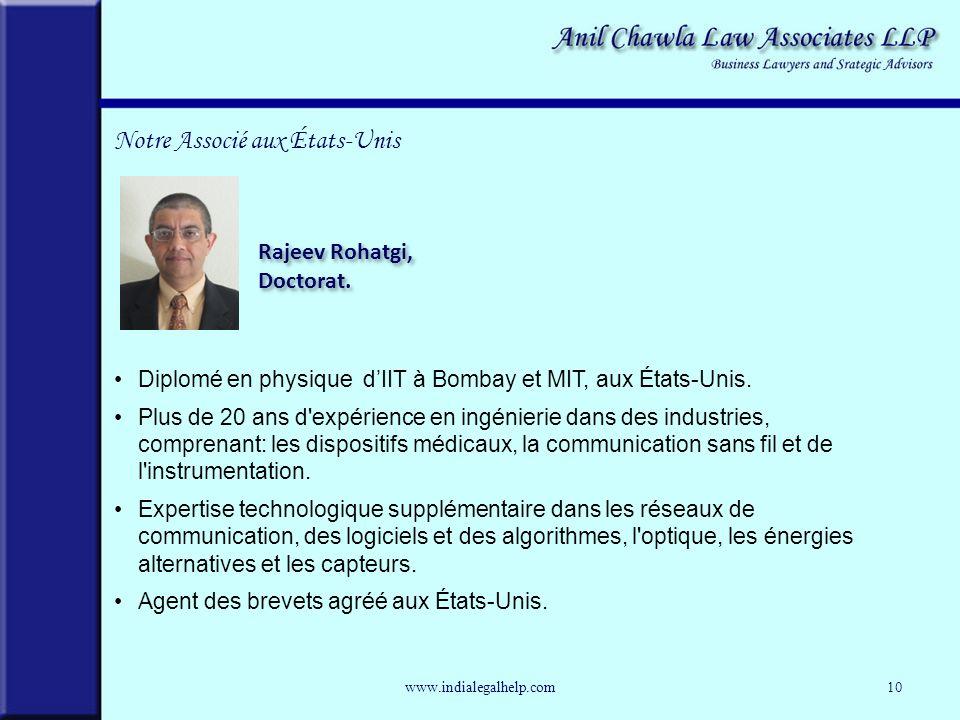 Diplomé en physique dIIT à Bombay et MIT, aux États-Unis.