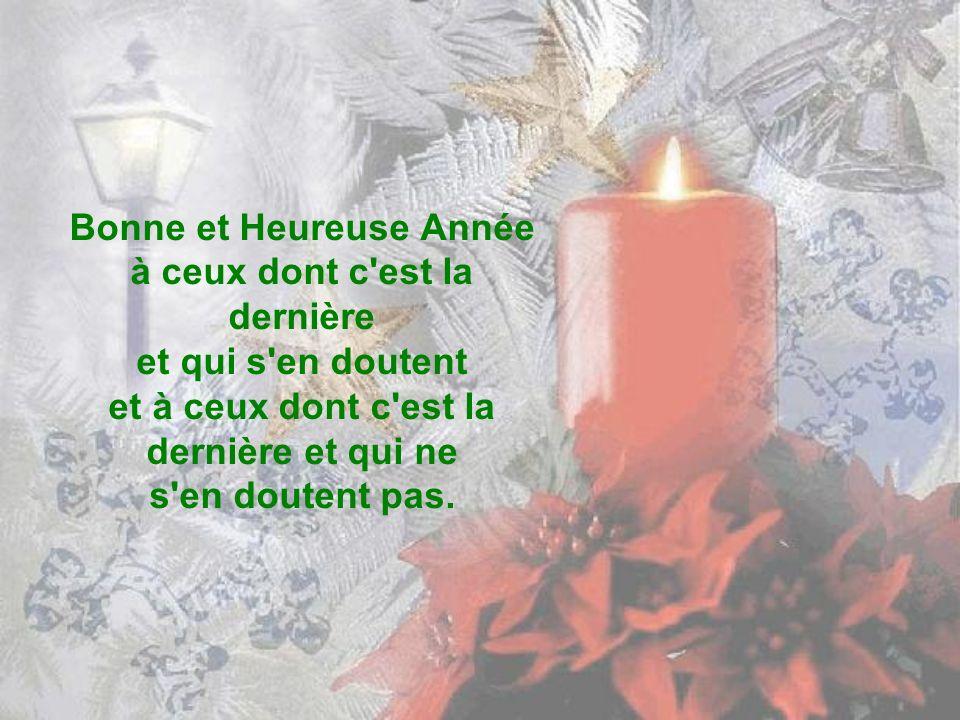 Bonne et Heureuse Année à tous ceux qui portent en eux blessures vraies, un immense néant fait de tous les arrachements.