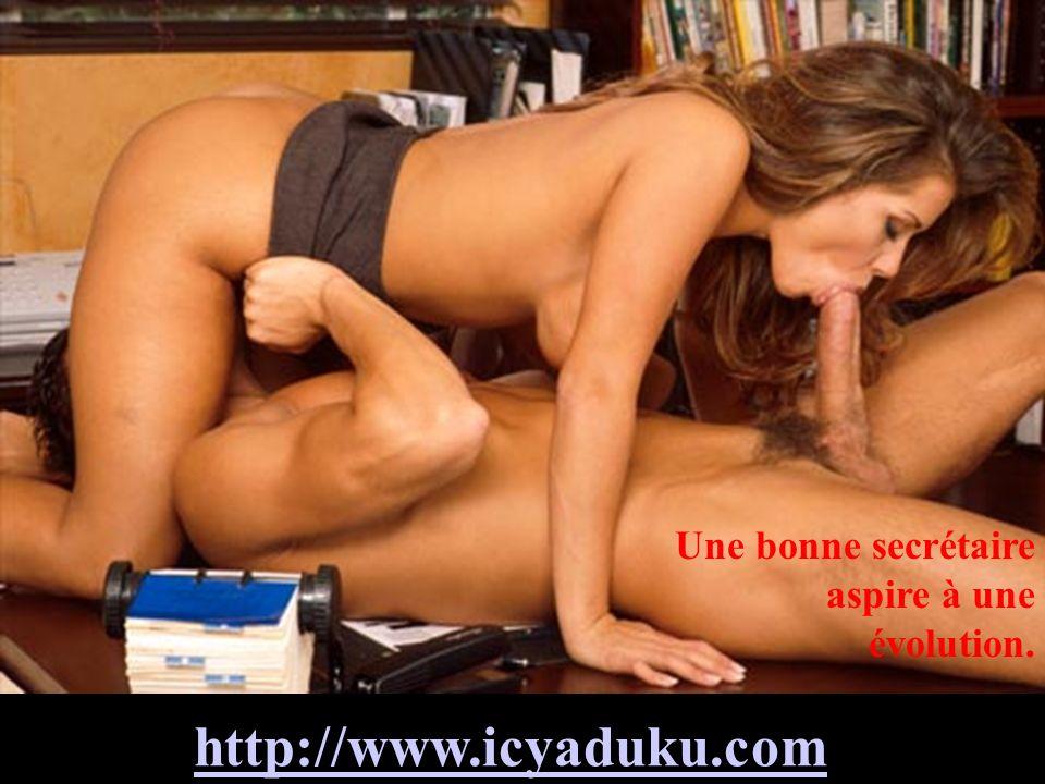 http://www.icyaduku.com Une bonne secrétaire aspire à une évolution.