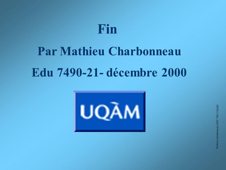 Mathieu Charbonneau, EDU 7492, UQAM Nous retrouvons donc, une trame linéaire rigide, mais aussi organique, tenant compte de la rivière.