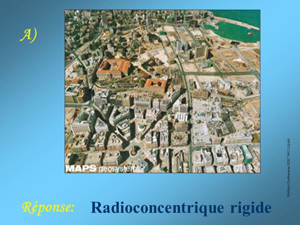 Mathieu Charbonneau, EDU 7492, UQAM Croyez-vous connaître les trames de base ? Pour les deux photos aériennes suivantes, donnez-moi: 1)le type de tram