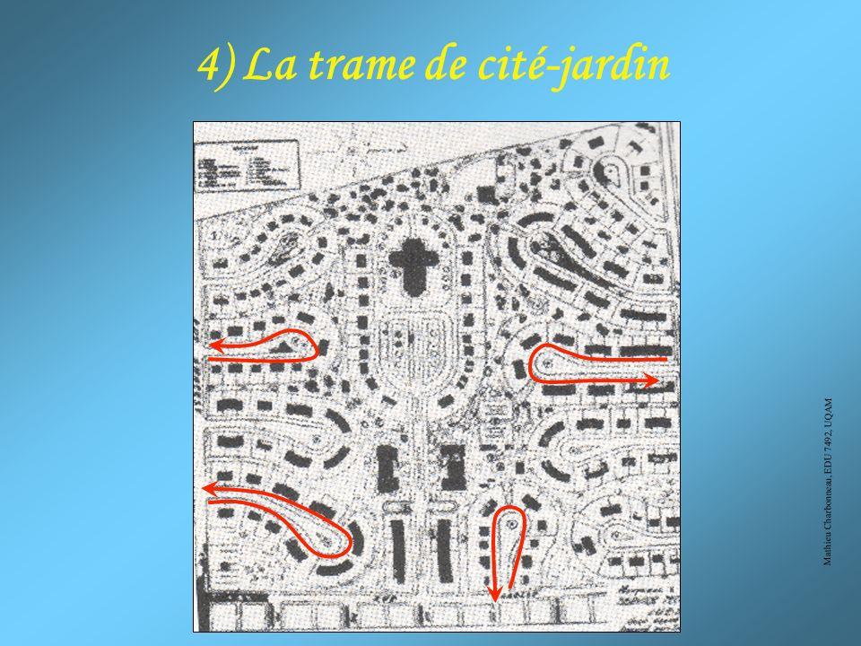 Mathieu Charbonneau, EDU 7492, UQAM 3) La trame linéaire