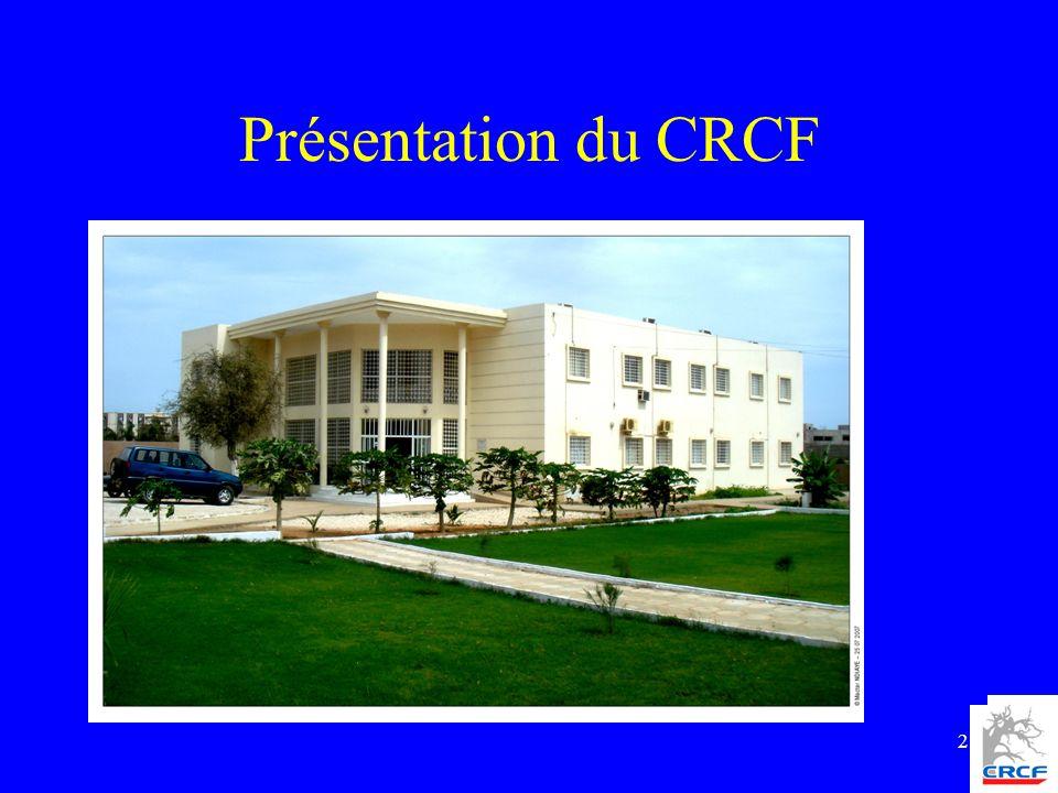 2 Présentation du CRCF