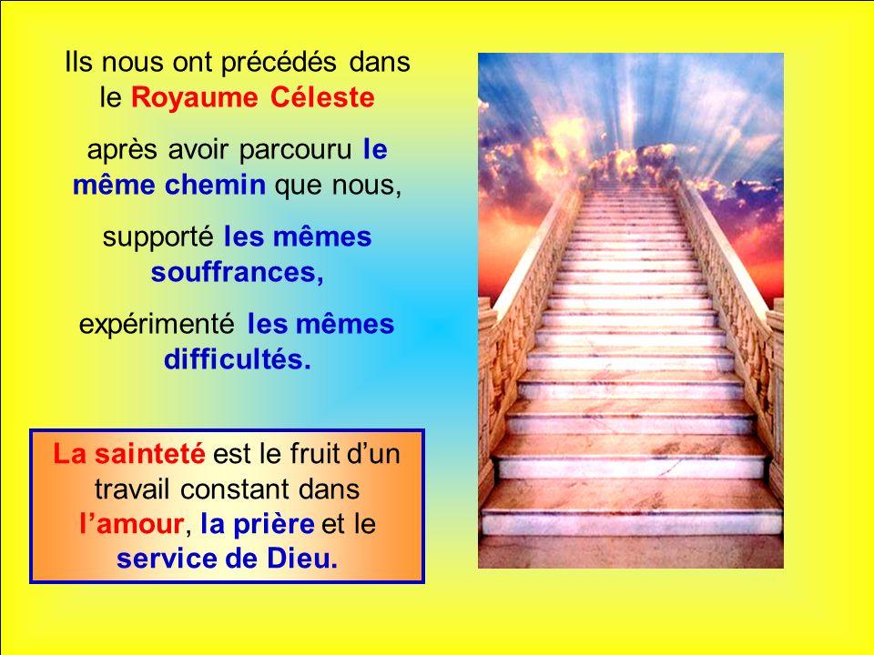 .. « Nous ne suivons pas tous le même chemin mais le terme sera le Ciel : nous goûterons éternellement les joies de la famille. » (sainte Thérèse de l