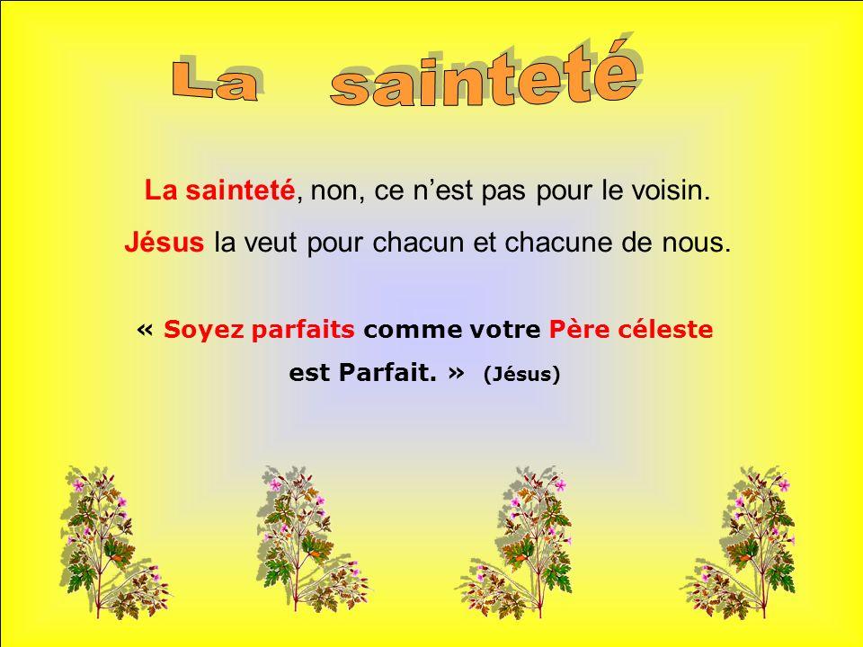 .. Comme ils sont beaux les saints et saintes du Ciel .