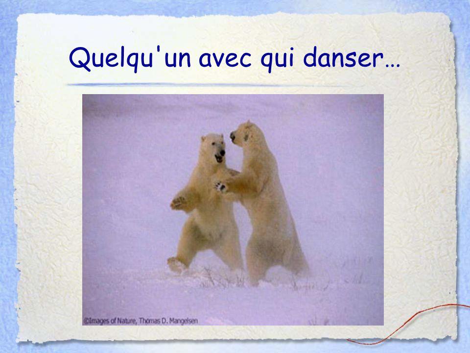 Quelqu'un avec qui danser…