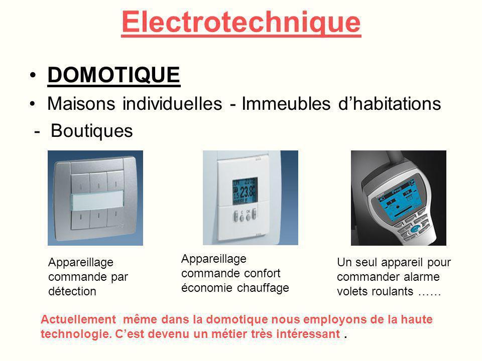 EQUIPEMENTS Plusieurs types de câblage Câblage sur petit coffretCâblage sur armoire industrielle