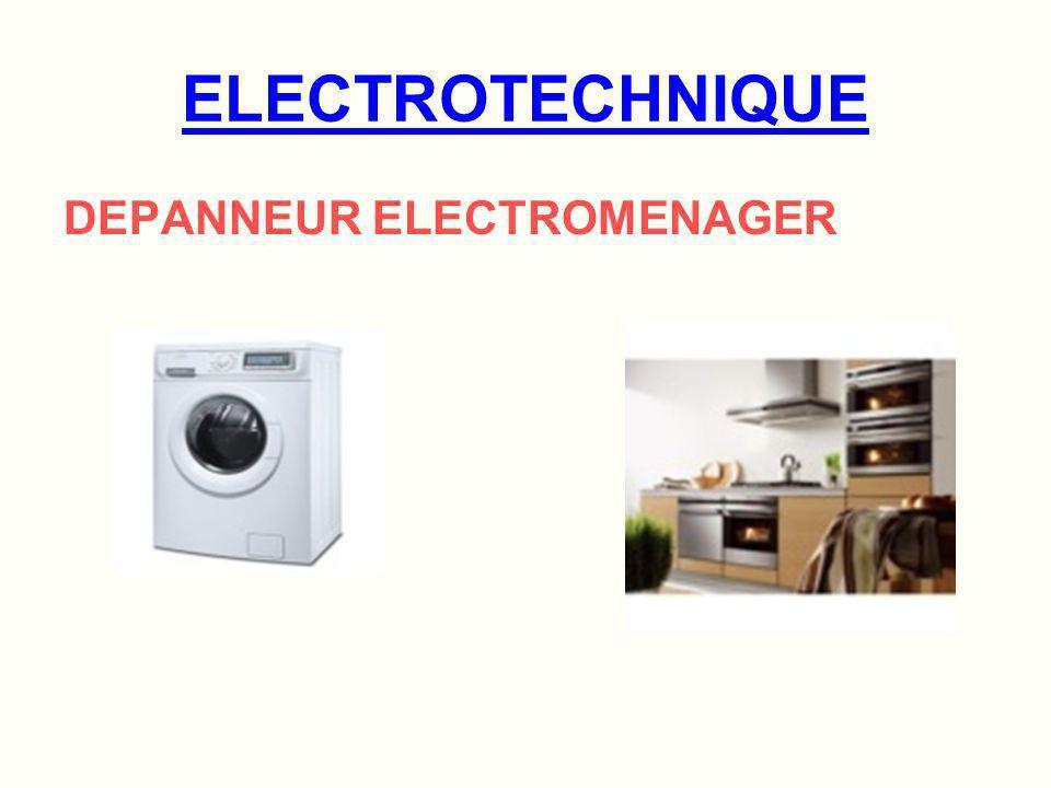 ELECTROTECHNIQUE DOMESTIQUE