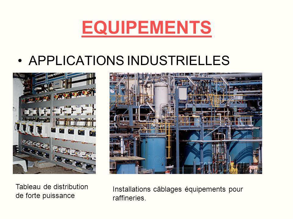 EQUIPEMENTS APPLICATIONS INDUSTRIELLES Production de papier Distribution de fluide