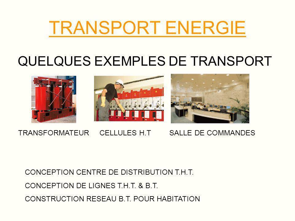PRODUCTION ENERGIE PLUSIEURS TYPES DE PRODUCTION Il existe de nombreuses façons de produire de l électricité.