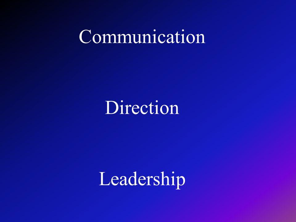 Communication Direction Leadership