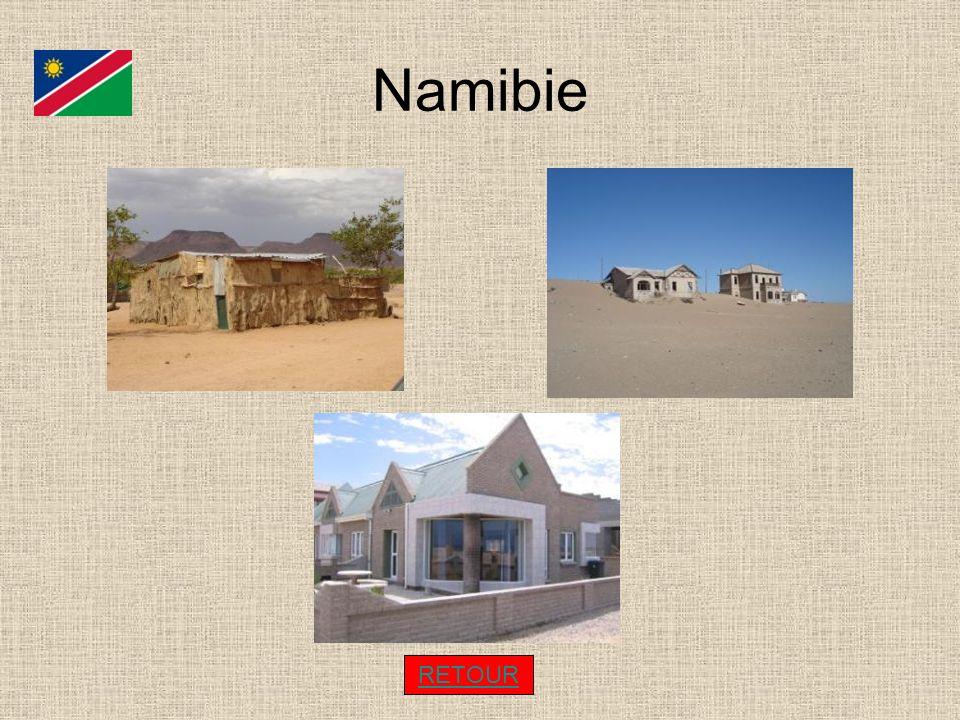 Namibie RETOUR