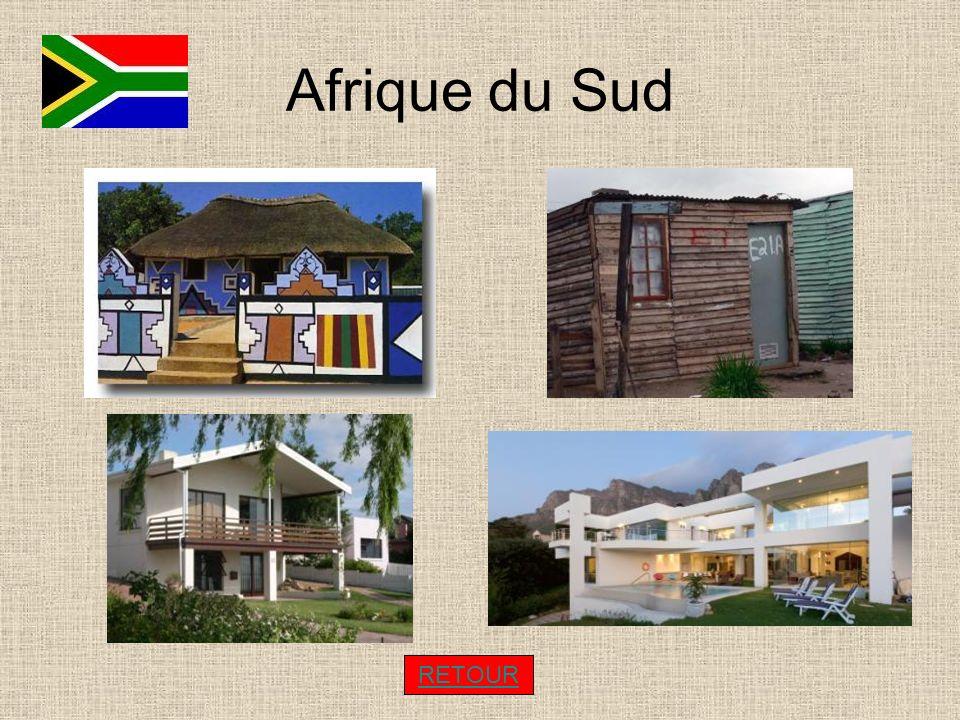 Afrique du Sud RETOUR