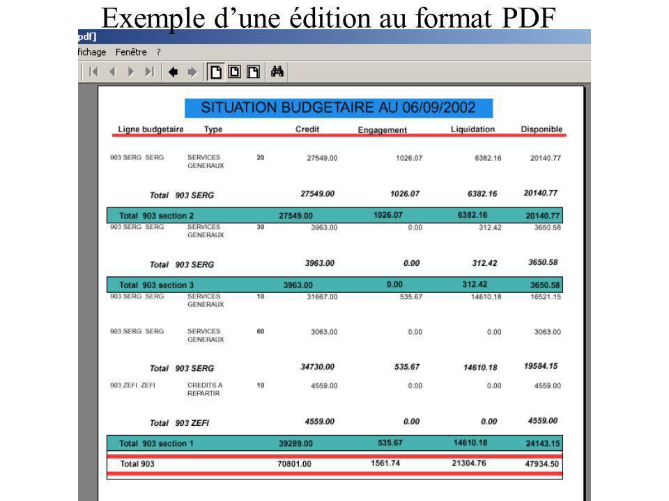 Module DEPENSES Engagement et commandes simultanés Facturation – liquidation Mandatement Consultations – recherches
