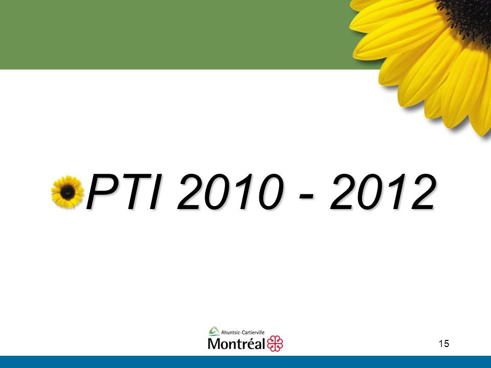 15 PTI 2010 - 2012