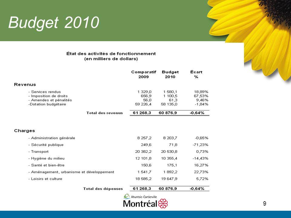 9 Budget 2010