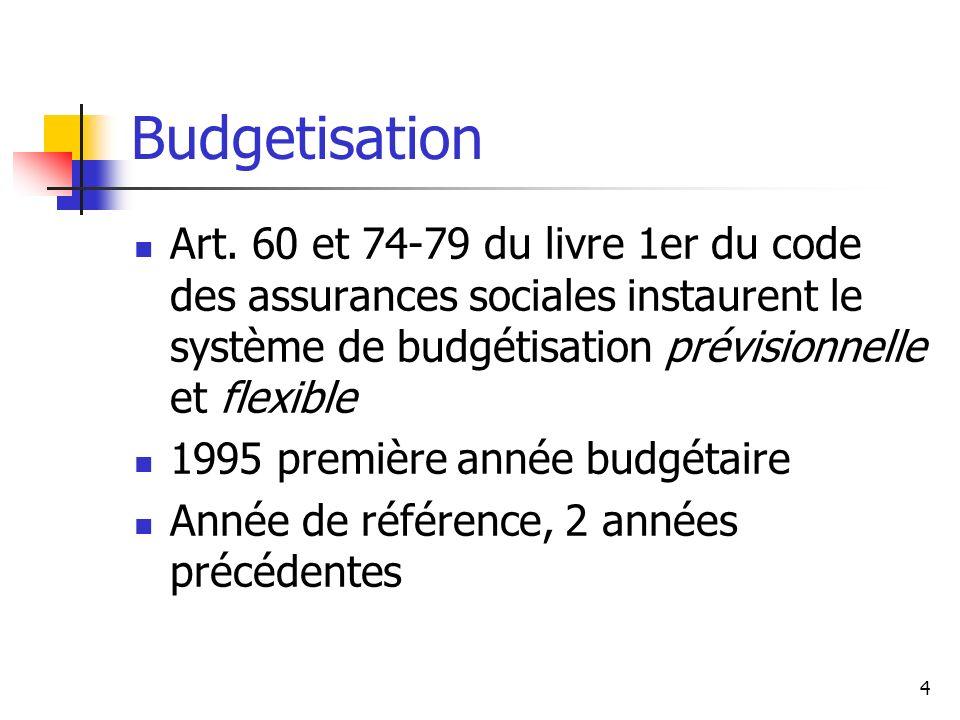 5 Budgetisation (2) Budget global sans « couvercle » avec plusieurs enveloppes Rectification spécifique ou générale