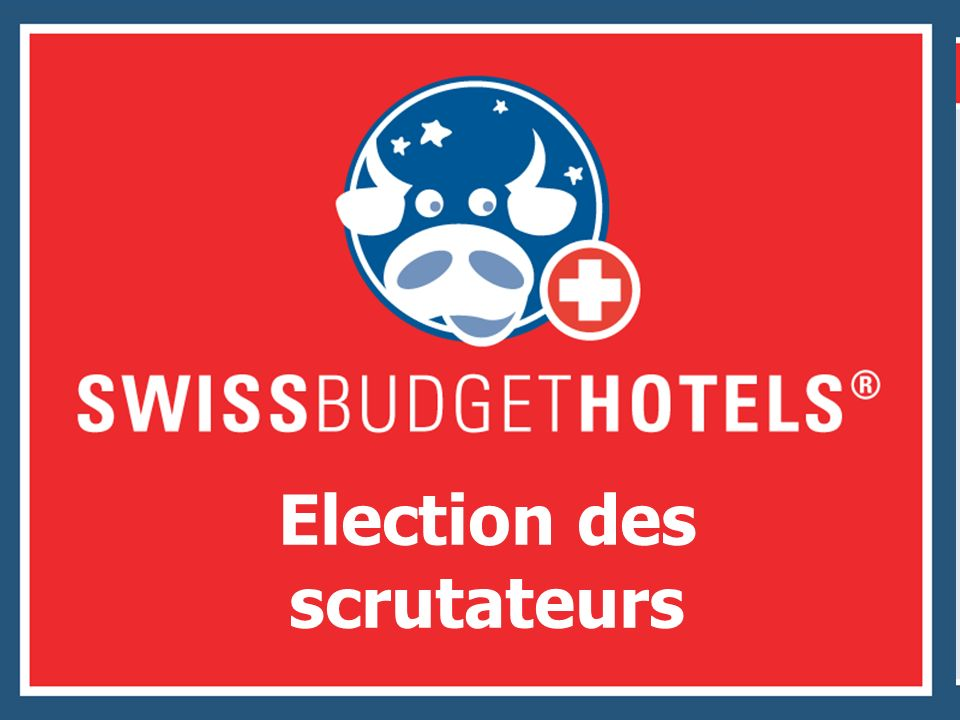 Election des scrutateurs