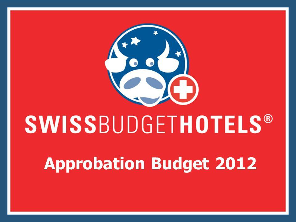 Approbation Budget 2012
