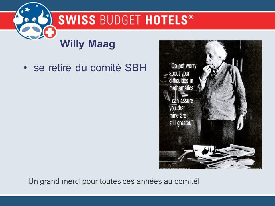 Willy Maag se retire du comité SBH Un grand merci pour toutes ces années au comité!