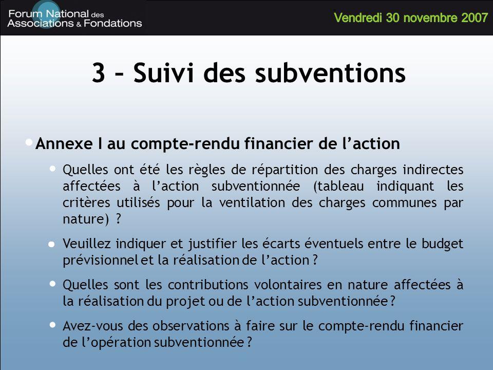 Annexe I au compte-rendu financier de laction Quelles ont été les règles de répartition des charges indirectes affectées à laction subventionnée (tabl