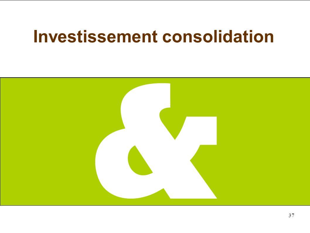 37 Investissement consolidation