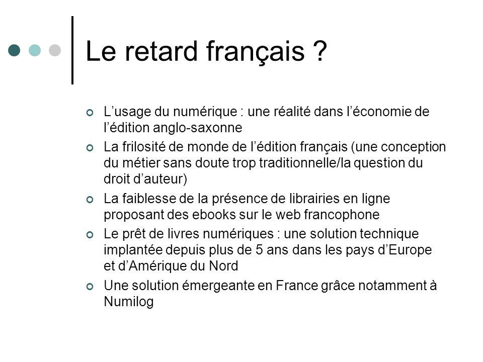 Le retard français .