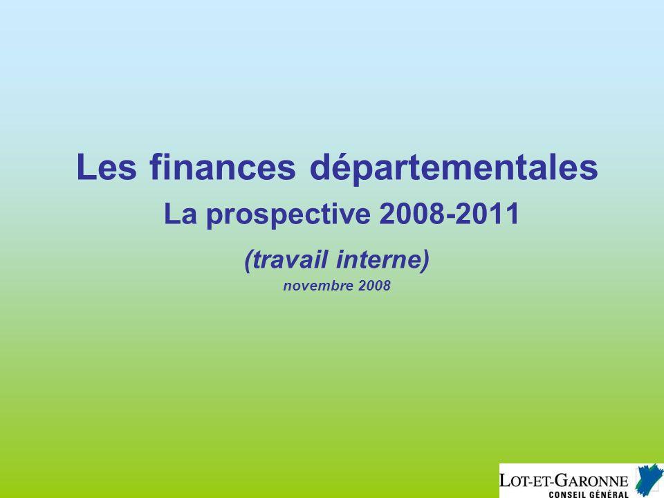 Préambule - définition Une prospective financière est un indicateur de tendances.