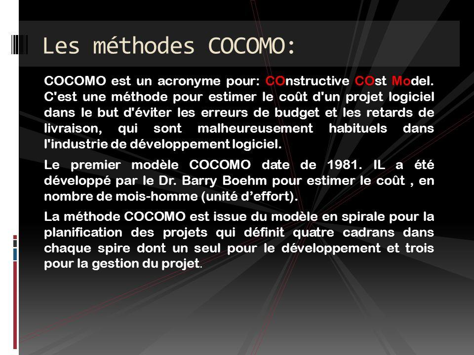 Ce modèle est adapté pour les gros projets complexes.