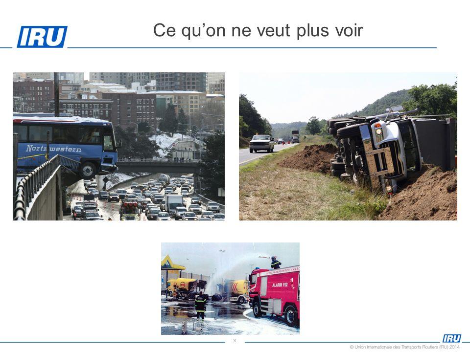 4 La sécurité routière et la prévention des accidents dans les entreprises de transport routier Transporteur routier Destinataire Cest laffaire de tous Expéditeur/organisateur de transport Pouvoirs publics Les autres usagers
