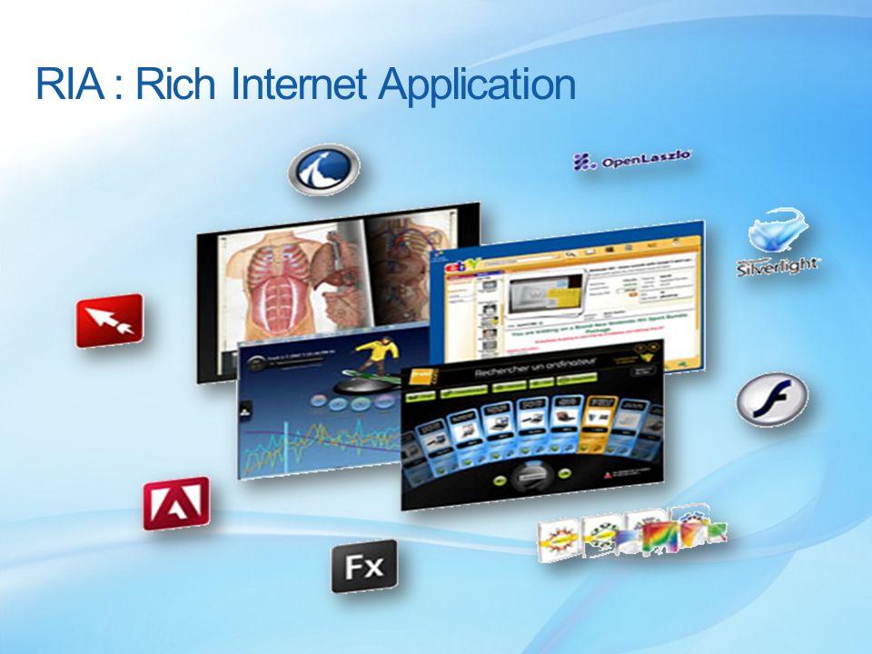 RIA : Rich Internet Application