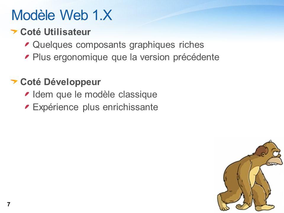 Poste Client Serveur Page HTML .Silverlight / Flex .