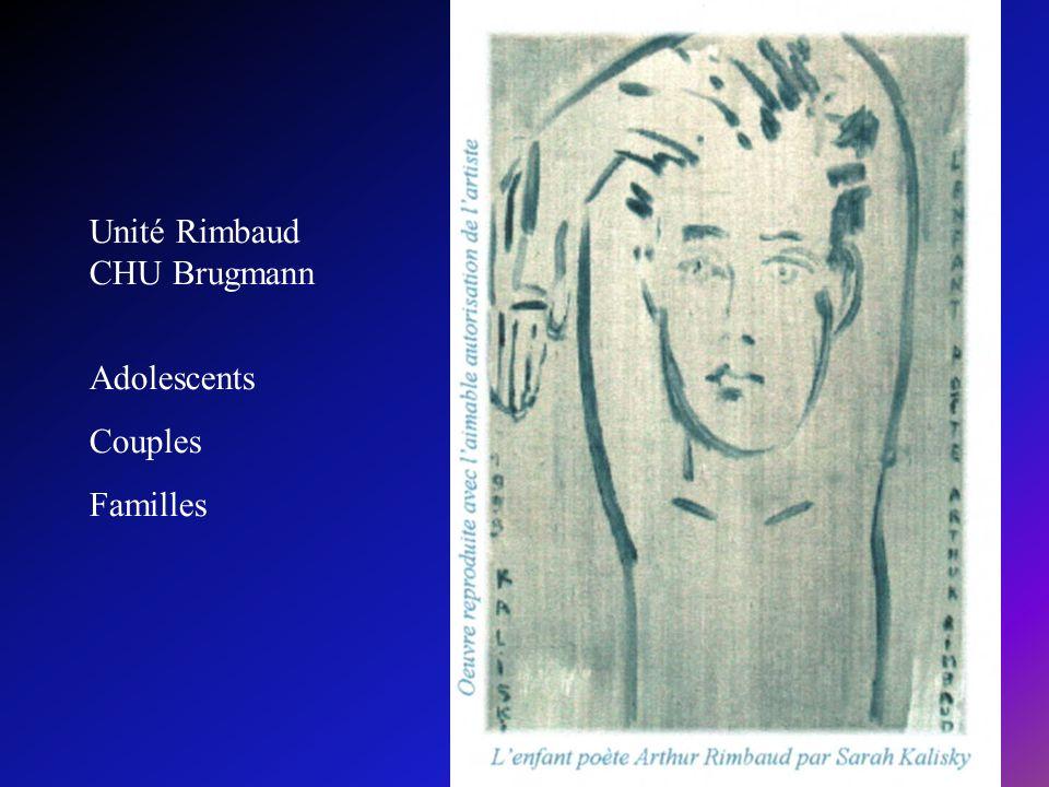 Unité Rimbaud CHU Brugmann Adolescents Couples Familles