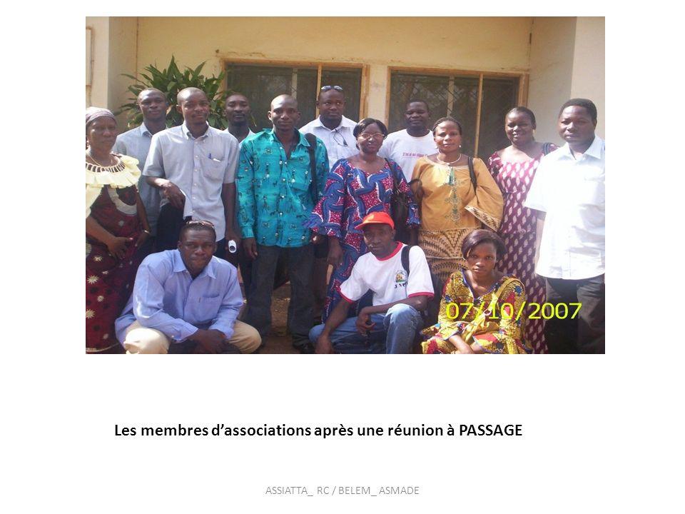 Membres dune association RC / ASMADE