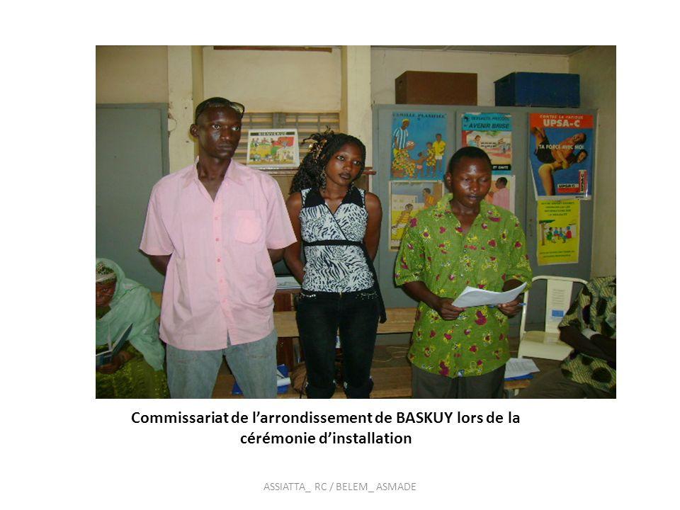 Vue partielle des jeunes à la cérémonie dinstallation du commissariat de BOGODOGO au centre jeunes du secteur 15 ASSIATTA_ RC / BELEM_ ASMADE