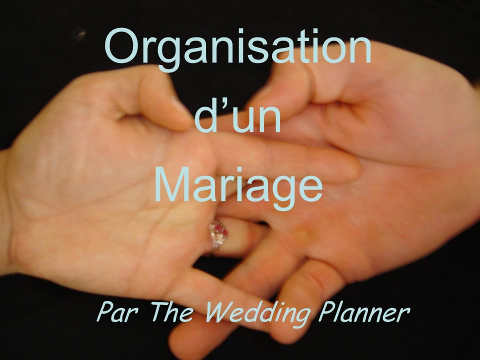 Organisation dun Mariage Par The Wedding Planner