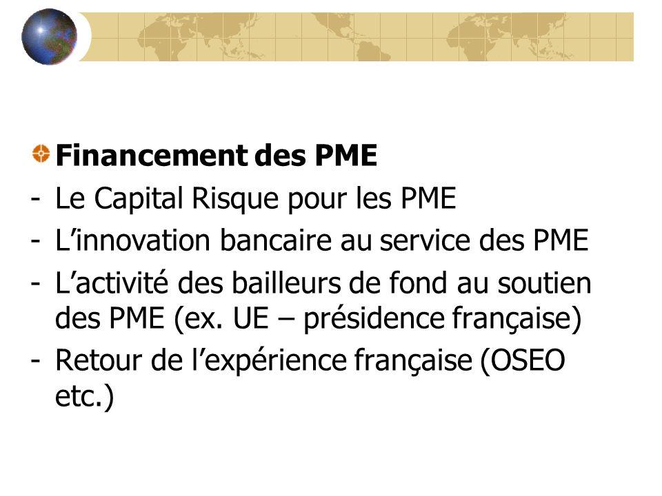 La PME Responsable (intervenants: PME fr., eur., turque…) -La PME socialement responsable -Les PME et ses externalités négatives -Le réchauffement climatique – un sujet pour les PME?