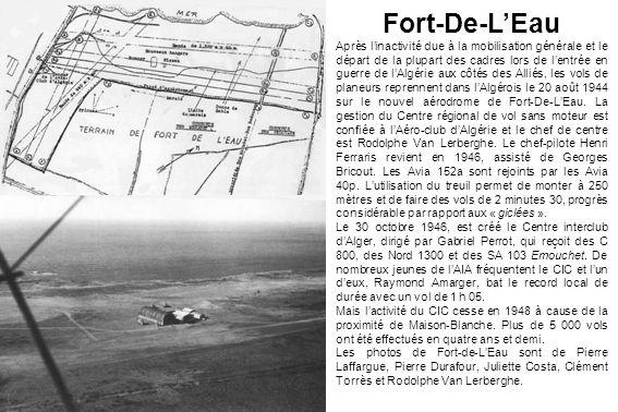 Fort-De-LEau Après linactivité due à la mobilisation générale et le départ de la plupart des cadres lors de lentrée en guerre de lAlgérie aux côtés de