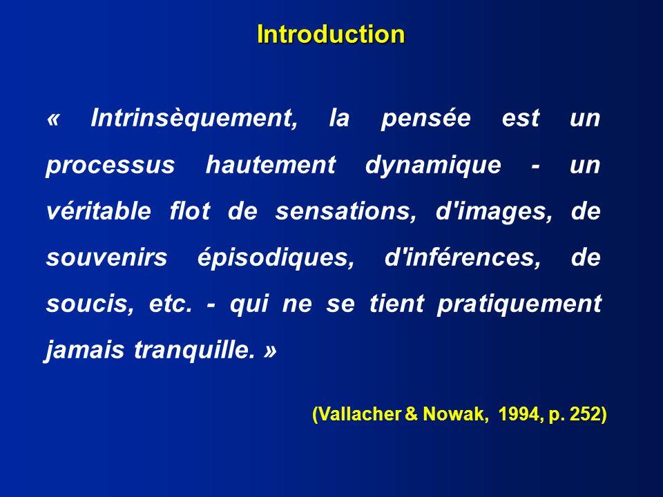 3 Modèle cybernétique du contrôle Valeur de référence Fonction entrée (perception) Impact / environnement Fonction sortie (comportement) Influences externes Comparateur + Carver et Scheier (1990)