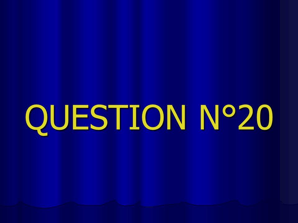 QUESTION N°20