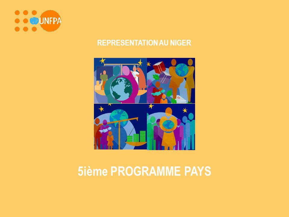 REPRESENTATION AU NIGER 5ième PROGRAMME PAYS