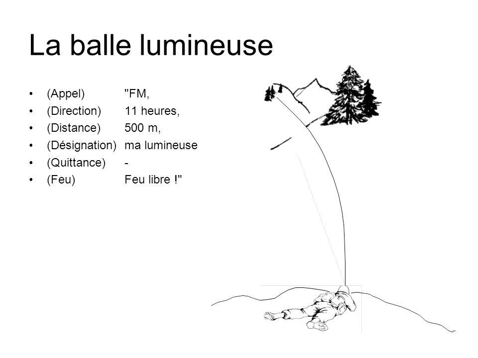 La balle lumineuse (Appel)