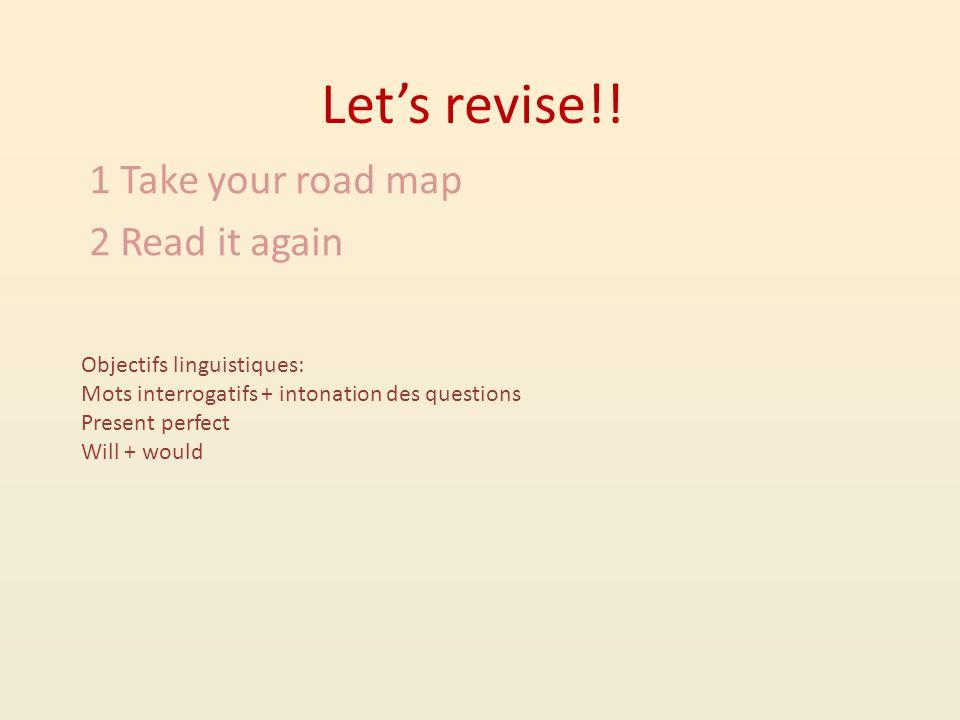 Lets revise!.