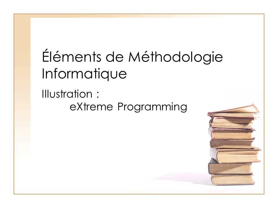 Éléments de Méthodologie Informatique Illustration : eXtreme Programming