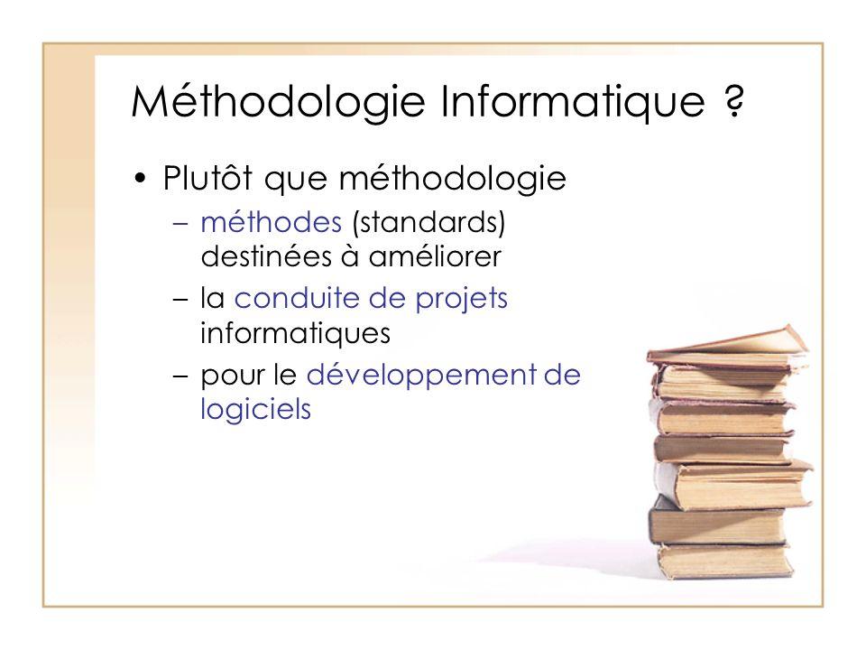 Méthodologie Informatique .